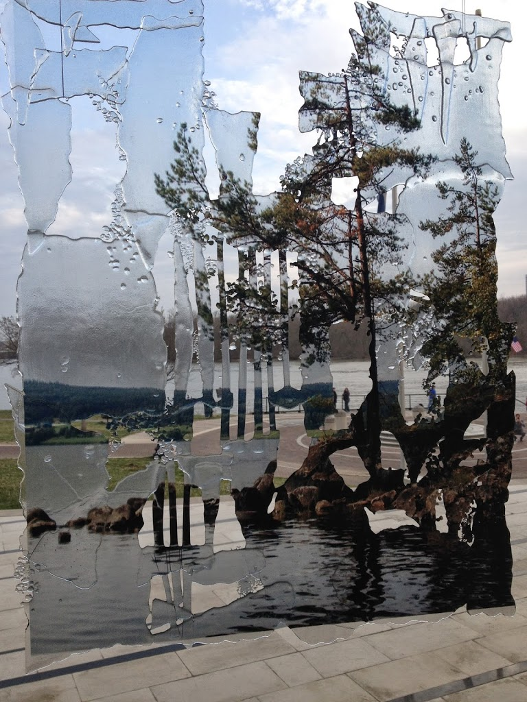 Water and Glass in House of Sweden