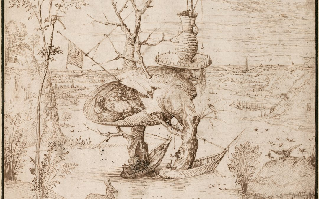 Drawings by Bosch:  Realism and Fantasy