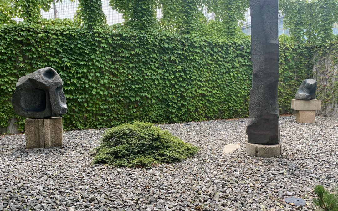 Looking for Peace?  Go to the Noguchi Museum